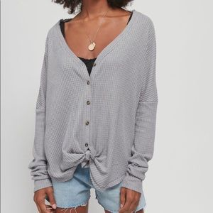 Urban Outfitters Soft Button Cardigan